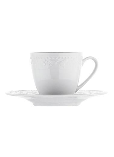 Kütahya Porselen Silvia Altı Kişilik 12 P. Kahve Fincan Tk. Renkli